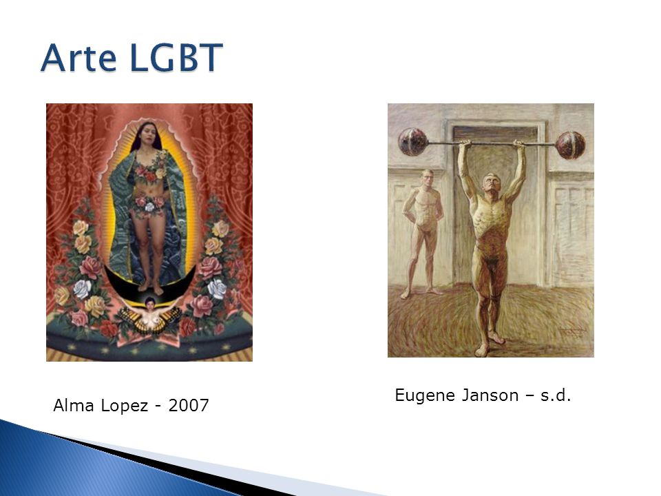 Arte LGBT Eugene Janson – s.d. Alma Lopez - 2007
