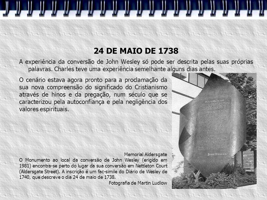 24 DE MAIO DE 1738