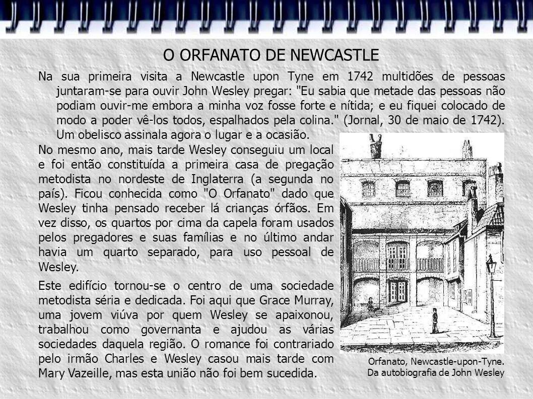 O ORFANATO DE NEWCASTLE