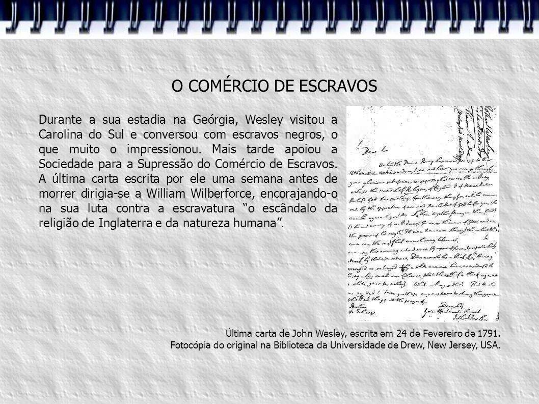 O COMÉRCIO DE ESCRAVOS