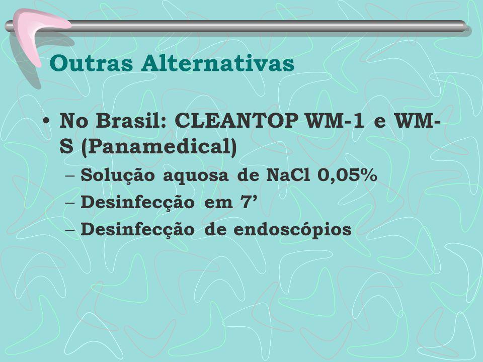 Outras Alternativas No Brasil: CLEANTOP WM-1 e WM-S (Panamedical)