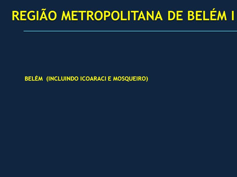 REGIÃO METROPOLITANA DE BELÉM I