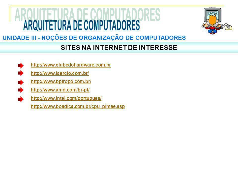 SITES NA INTERNET DE INTERESSE