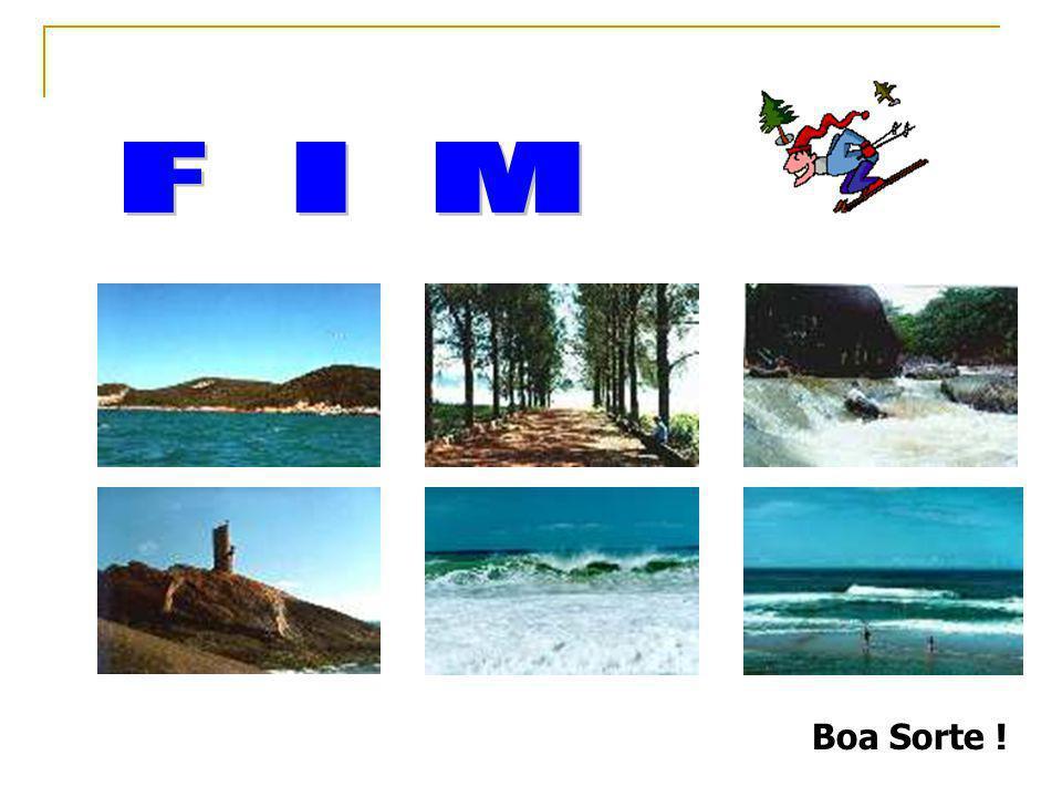 F I M Boa Sorte !
