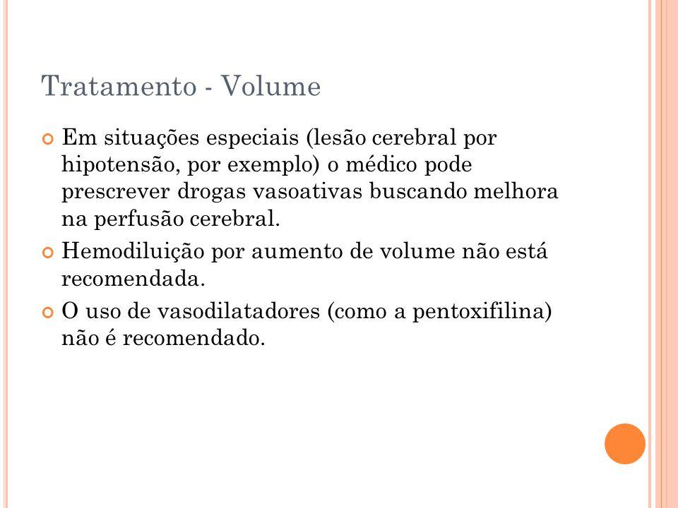 Tratamento - Volume