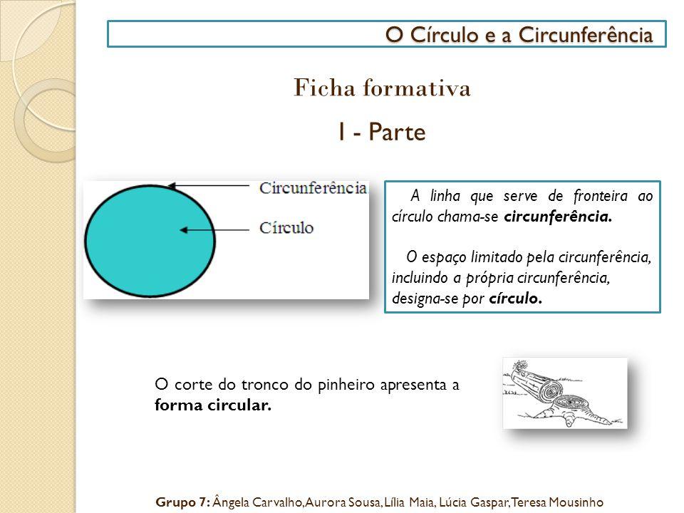 O Círculo e a Circunferência