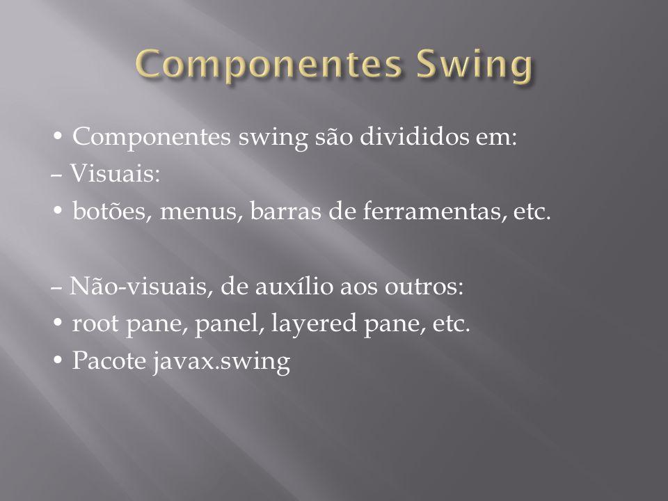 Componentes Swing