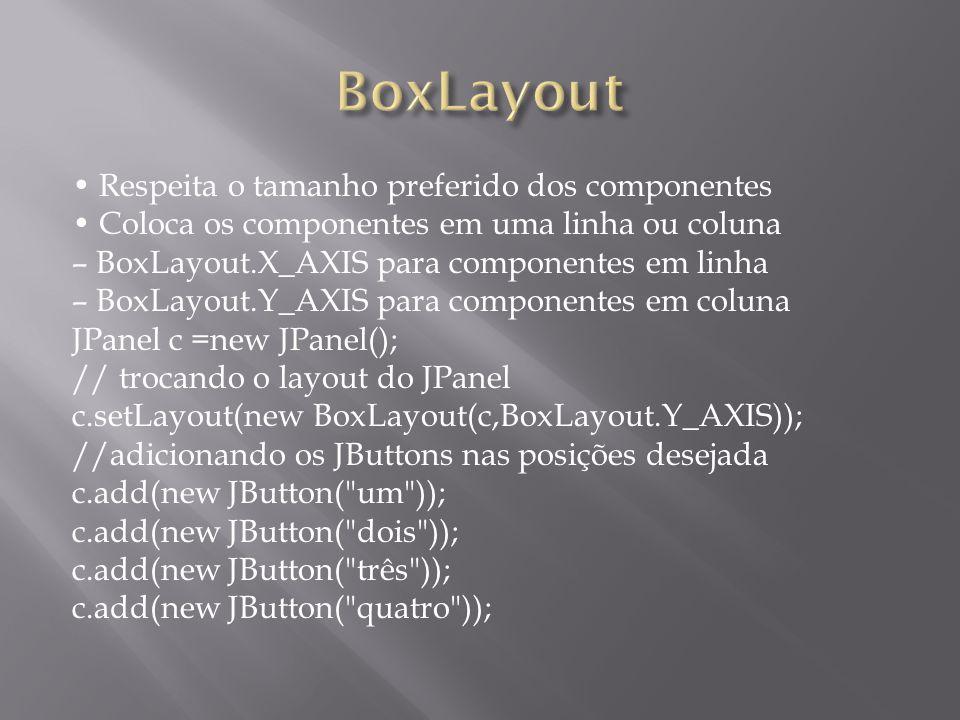 BoxLayout