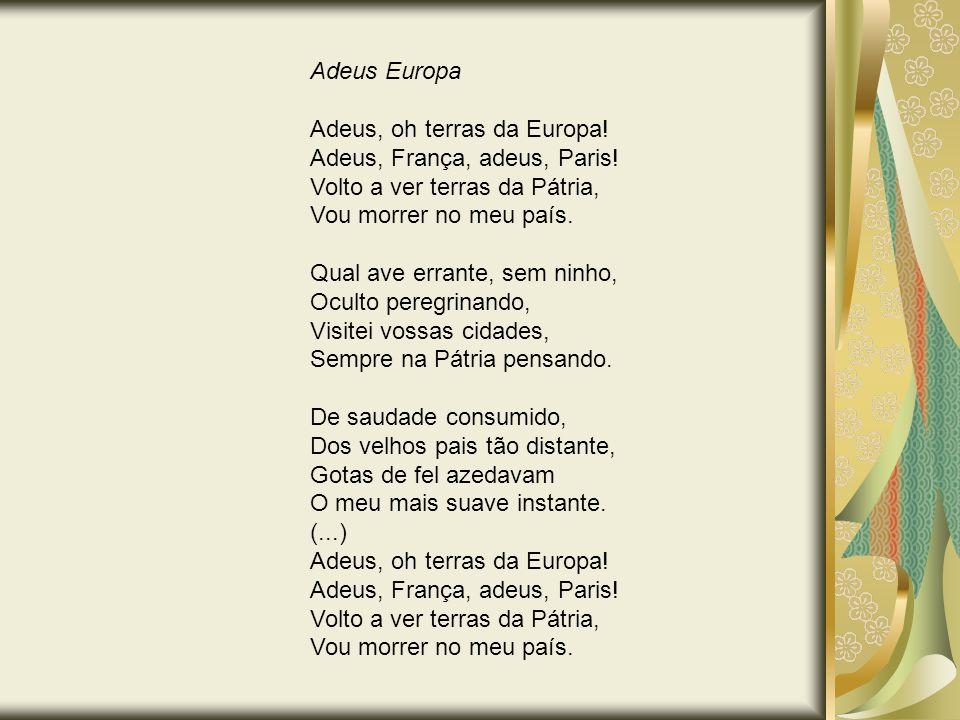 Adeus Europa