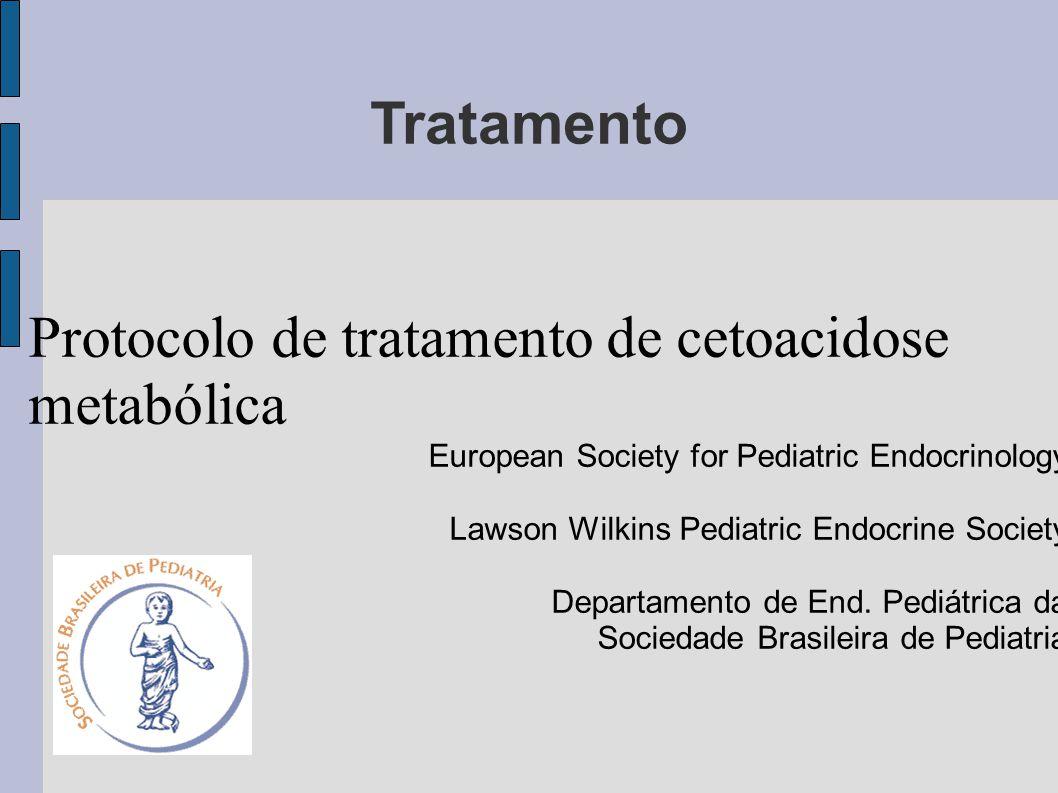 Protocolo de tratamento de cetoacidose metabólica