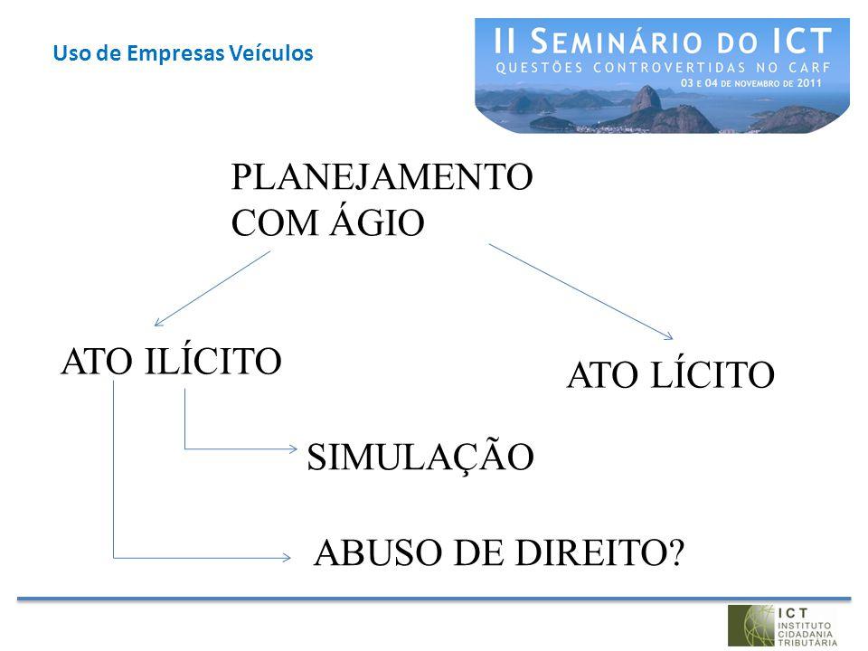 Uso de Empresas Veículos