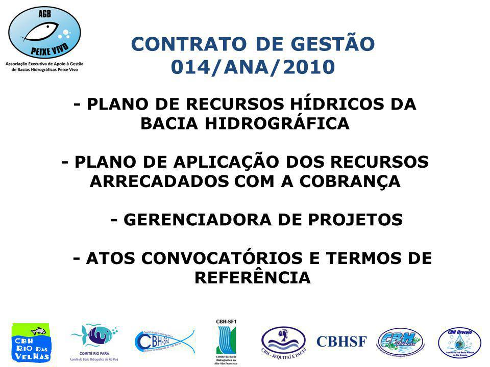 CONTRATO DE GESTÃO 014/ANA/2010