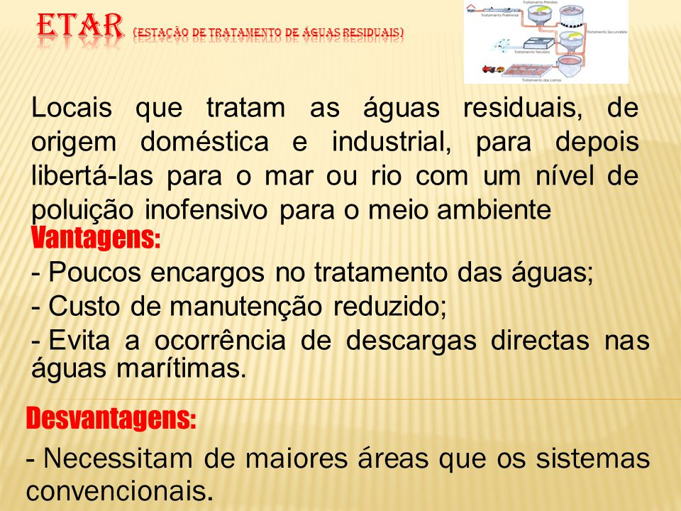 ETAR (estação de Tratamento de águas residuais)