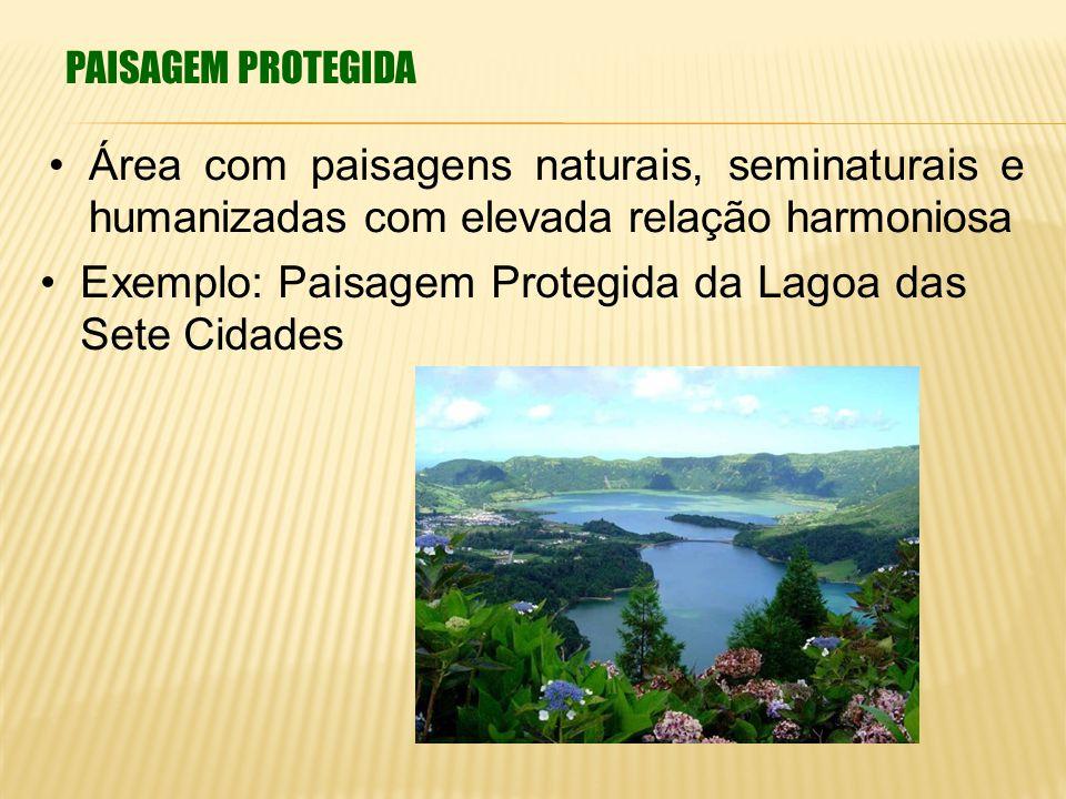 Exemplo: Paisagem Protegida da Lagoa das Sete Cidades