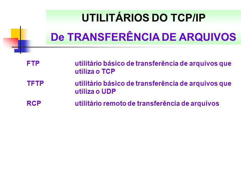 De TRANSFERÊNCIA DE ARQUIVOS
