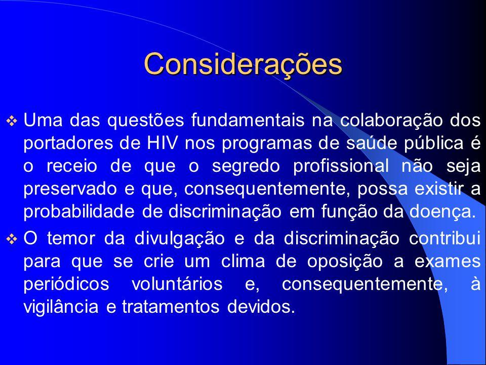 Considerações