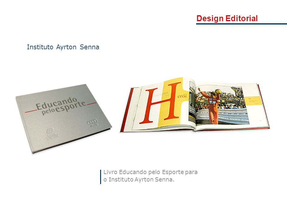 Design Editorial Instituto Ayrton Senna