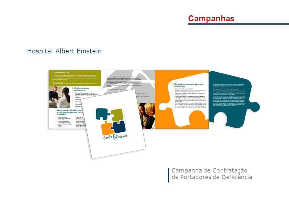 Campanhas Hospital Albert Einstein Campanha de Contratação