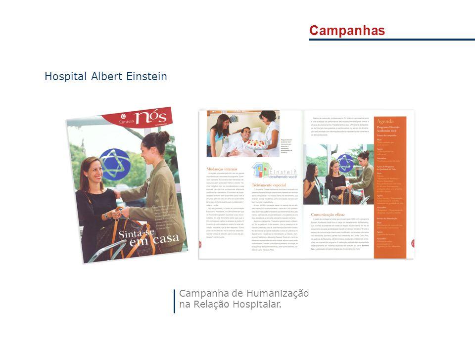 Campanhas Hospital Albert Einstein Campanha de Humanização