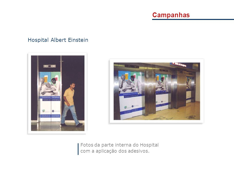 Campanhas Hospital Albert Einstein