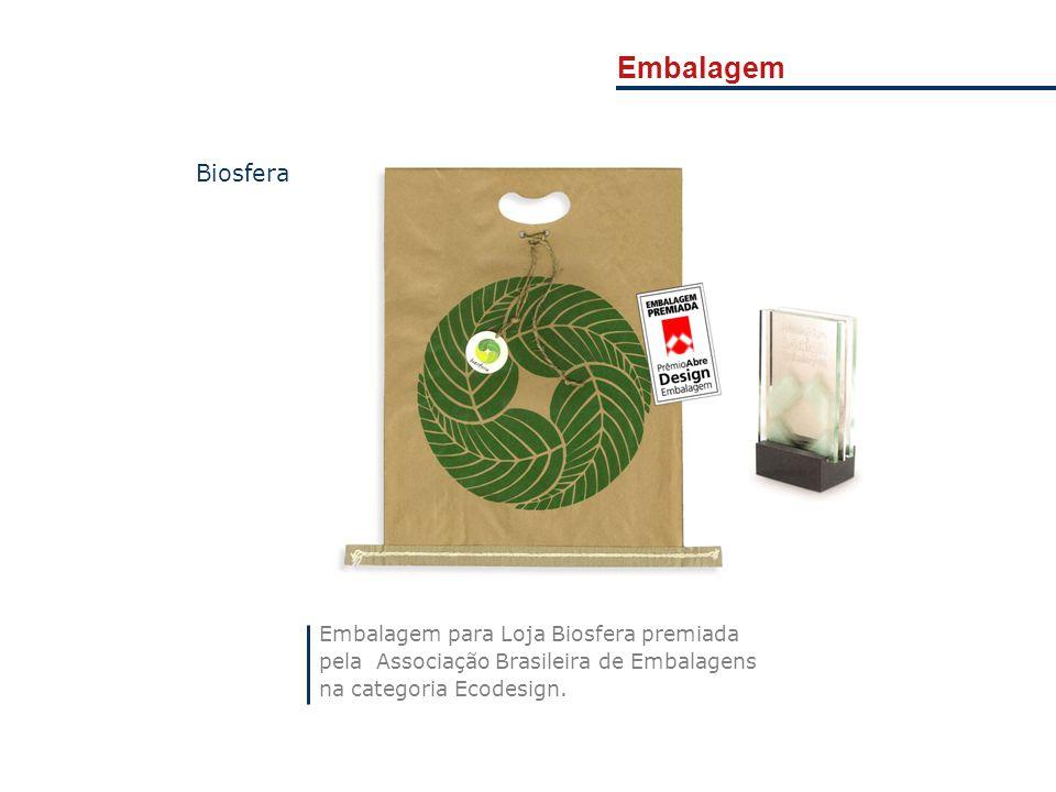 Embalagem Biosfera Embalagem para Loja Biosfera premiada