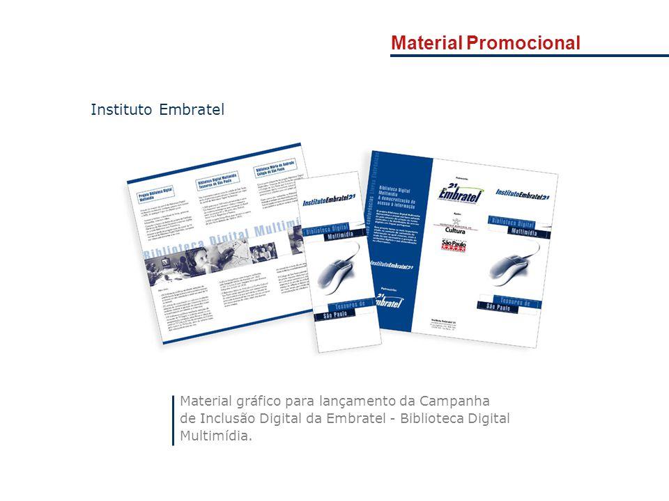 Material Promocional Instituto Embratel