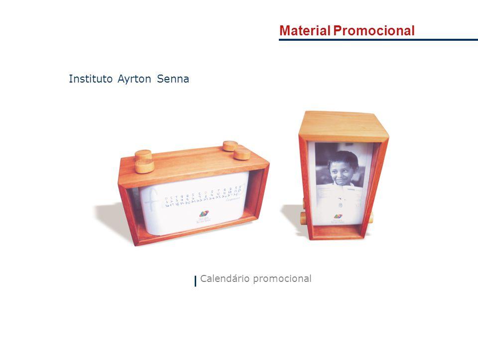 Material Promocional Instituto Ayrton Senna Calendário promocional