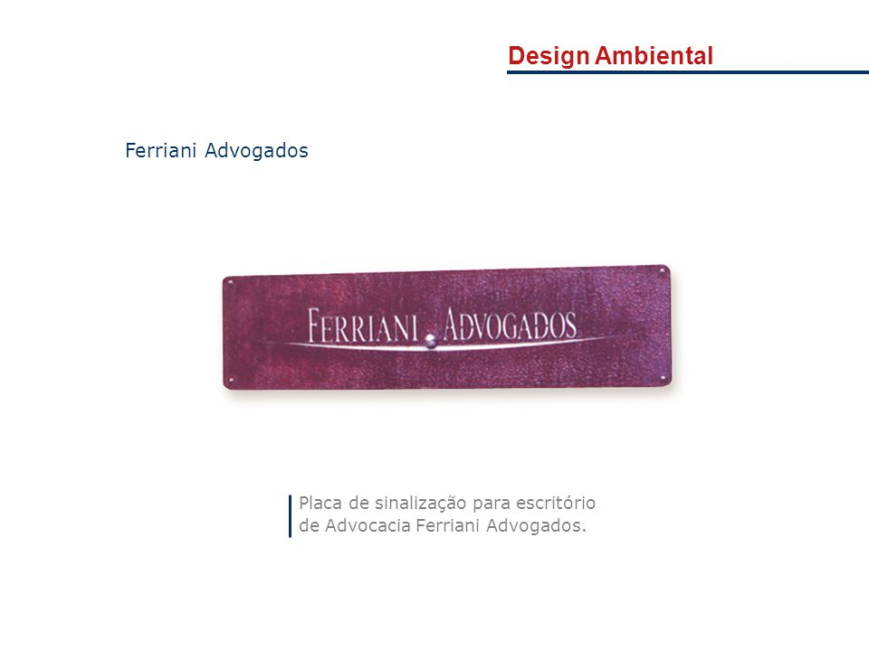 Design Ambiental Ferriani Advogados