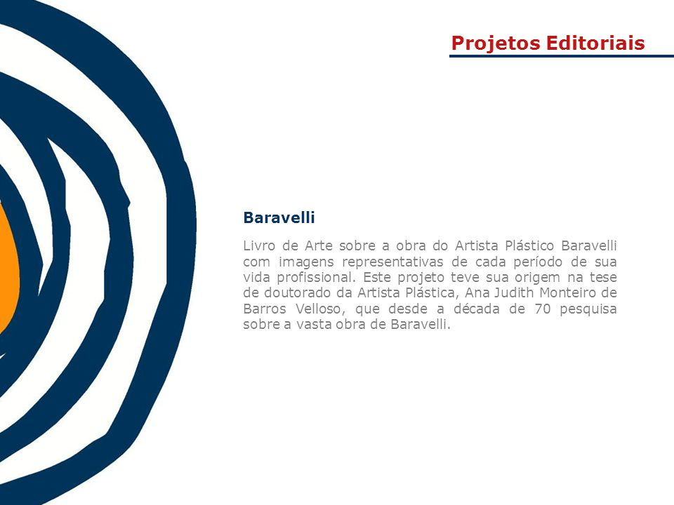 Projetos Editoriais Baravelli