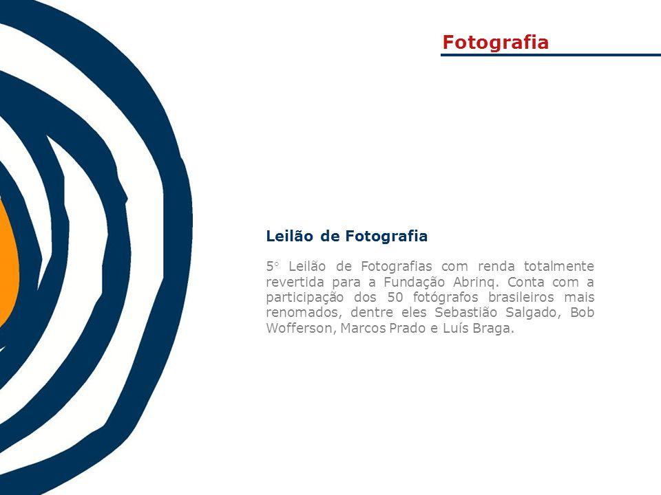 Fotografia Leilão de Fotografia
