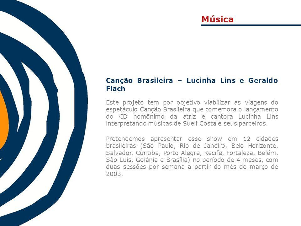 Música Canção Brasileira – Lucinha Lins e Geraldo Flach