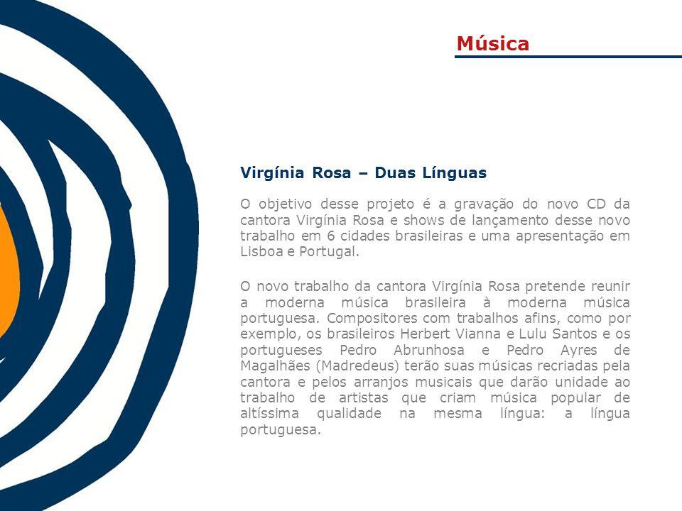 Música Virgínia Rosa – Duas Línguas