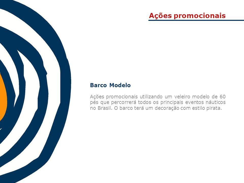 Ações promocionais Barco Modelo