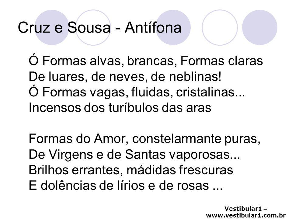 Cruz e Sousa - Antífona