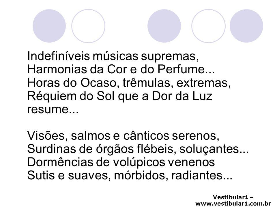 Indefiníveis músicas supremas, Harmonias da Cor e do Perfume
