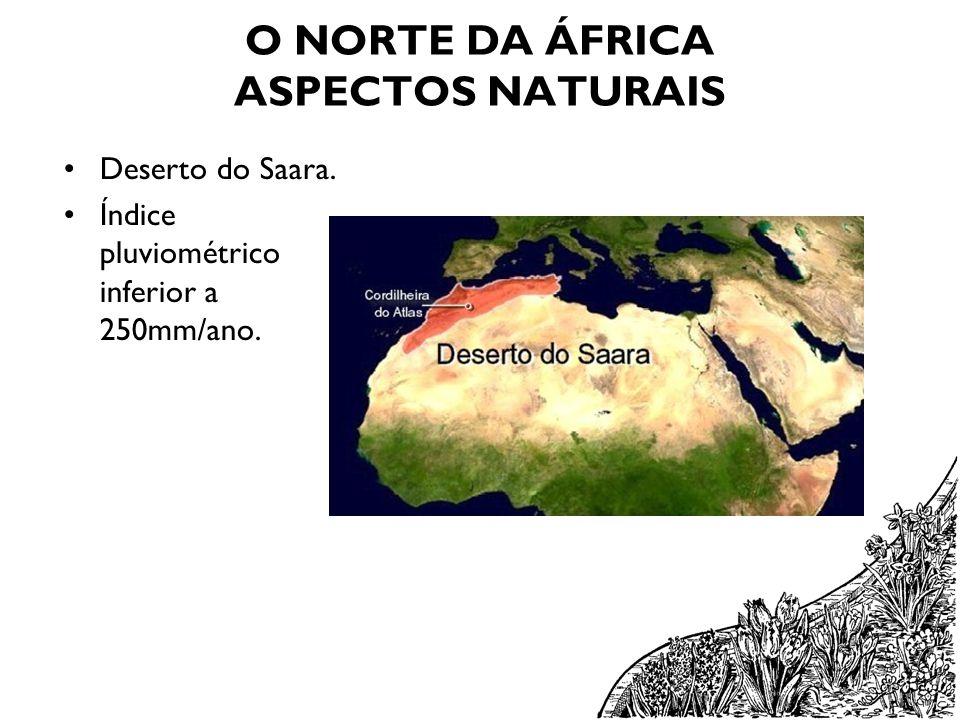 O NORTE DA ÁFRICA ASPECTOS NATURAIS