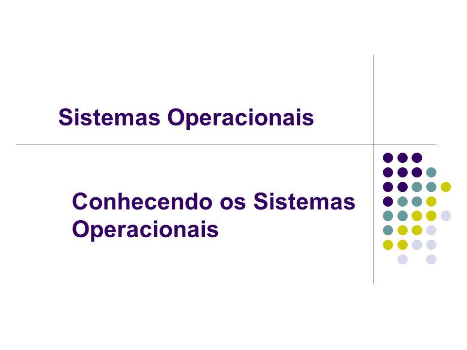 Conhecendo os Sistemas Operacionais