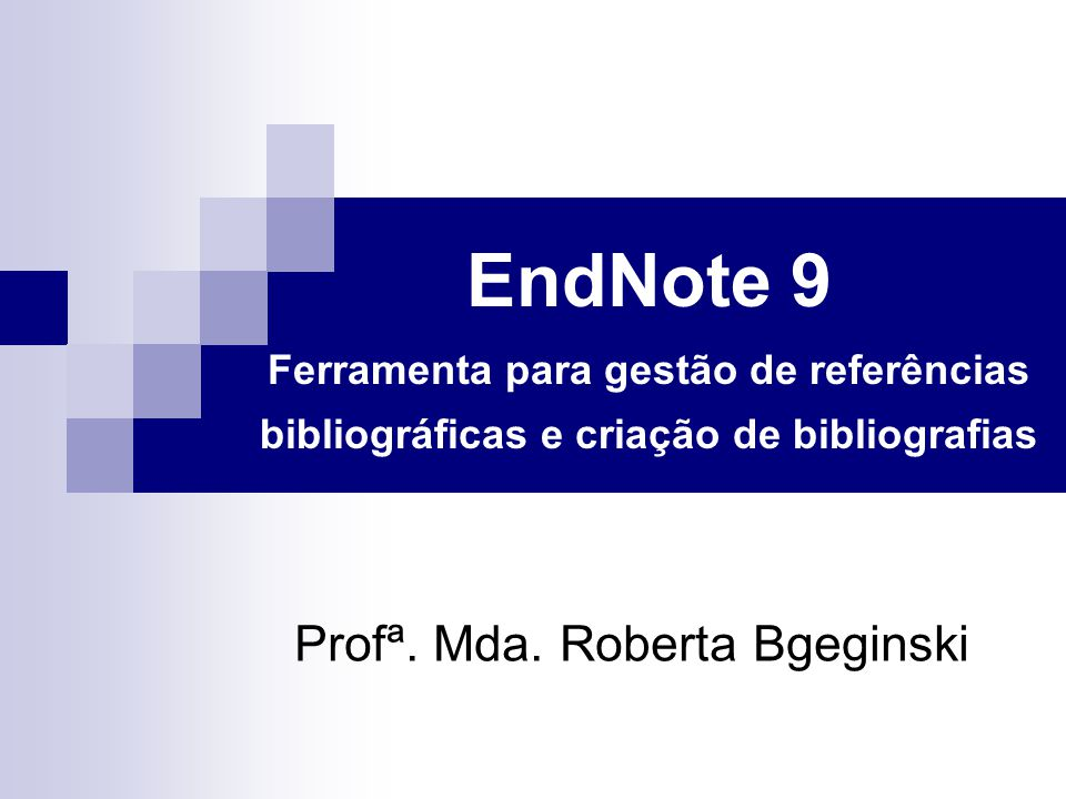 Profª. Mda. Roberta Bgeginski