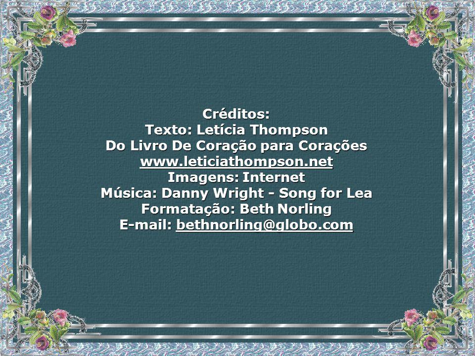 Texto: Letícia Thompson Do Livro De Coração para Corações