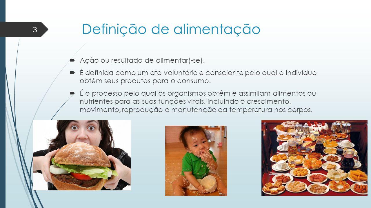Definição de alimentação