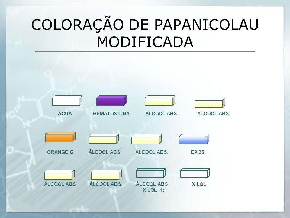 COLORAÇÃO DE PAPANICOLAU MODIFICADA