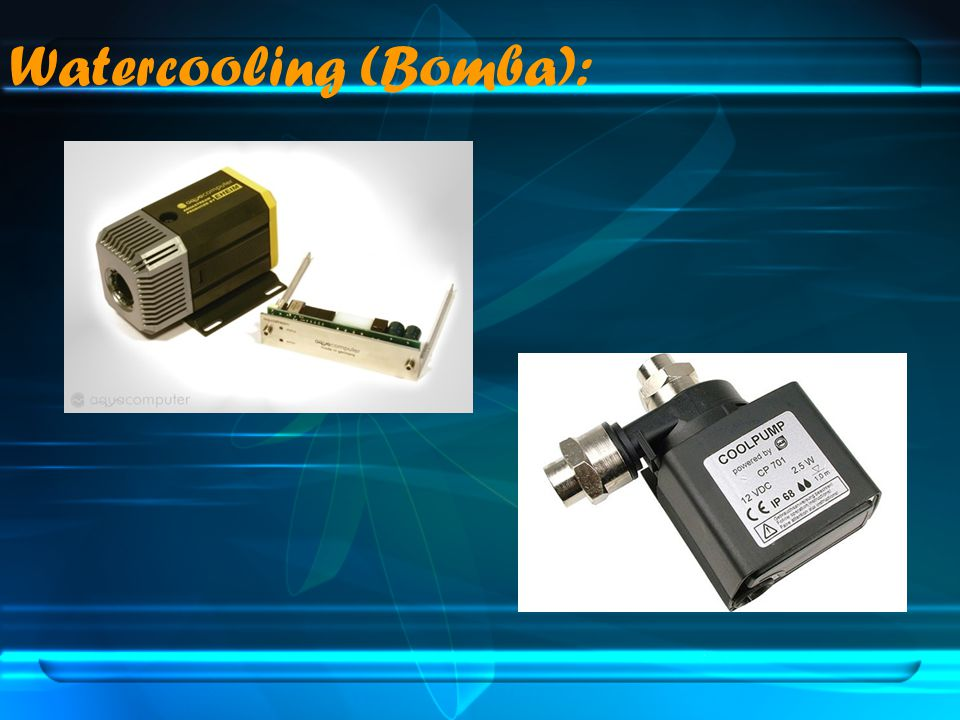 Watercooling (Bomba):