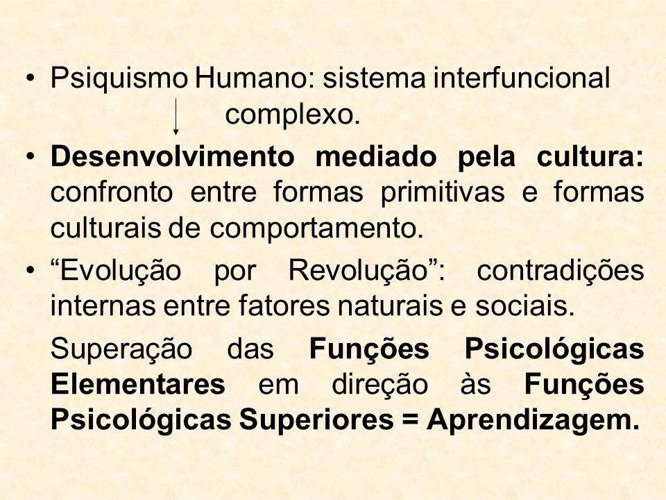 Psiquismo Humano: sistema interfuncional complexo.