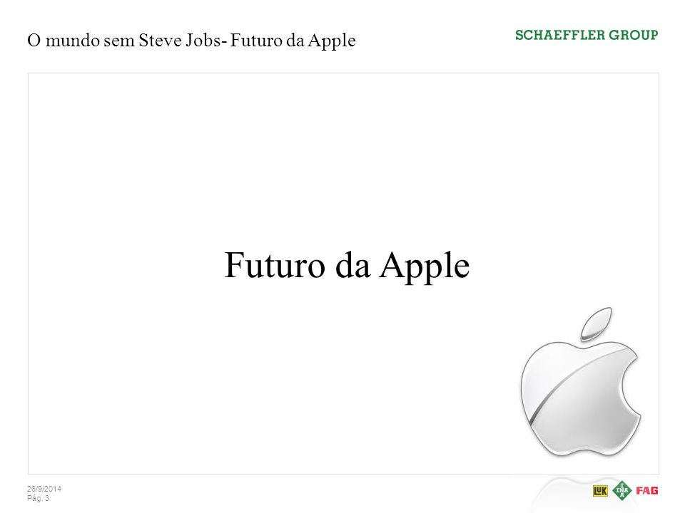 O mundo sem Steve Jobs- Futuro da Apple