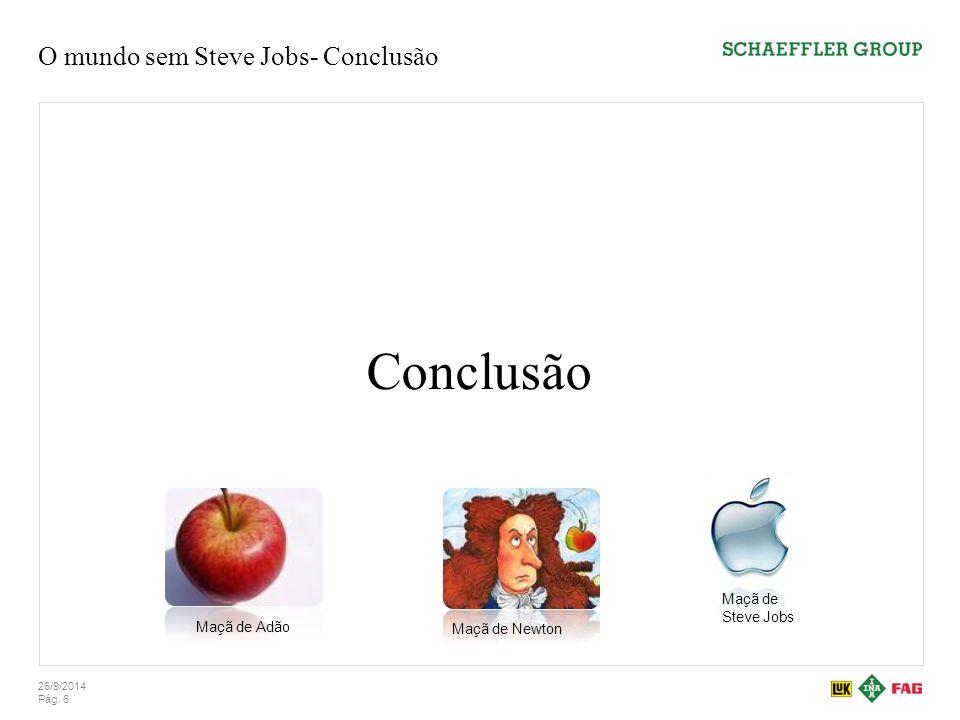 O mundo sem Steve Jobs- Conclusão