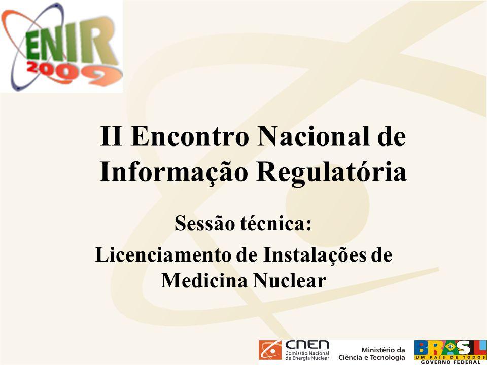 II Encontro Nacional de Informação Regulatória