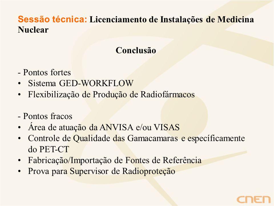 Sessão técnica: Licenciamento de Instalações de Medicina Nuclear