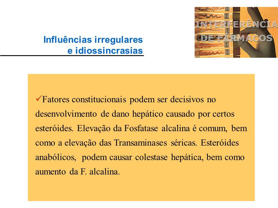 Influências irregulares
