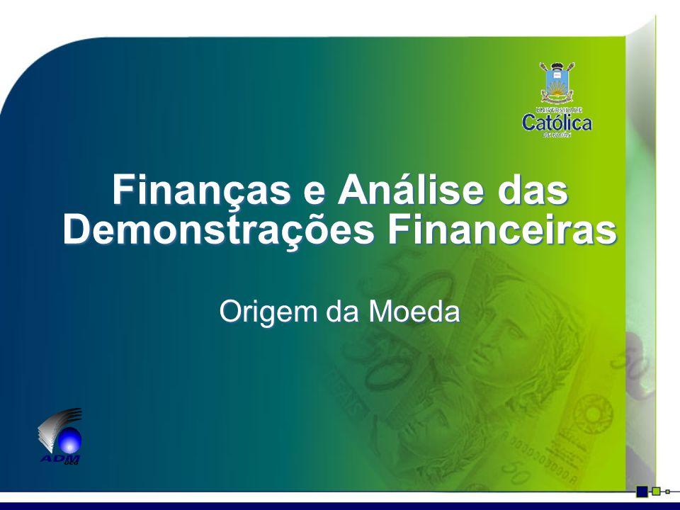 Finanças e Análise das Demonstrações Financeiras