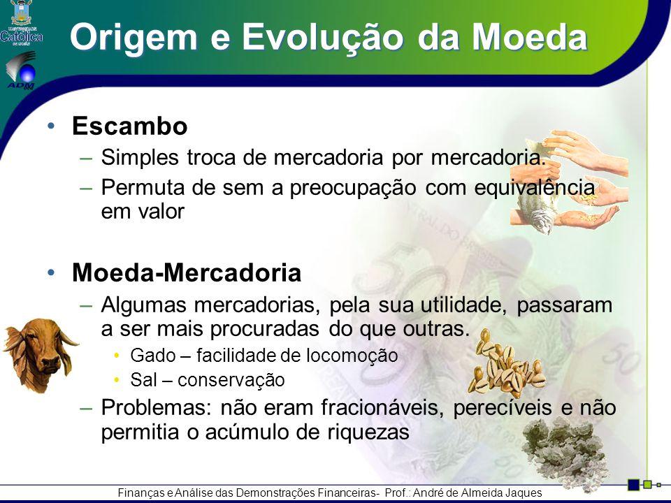 Origem e Evolução da Moeda